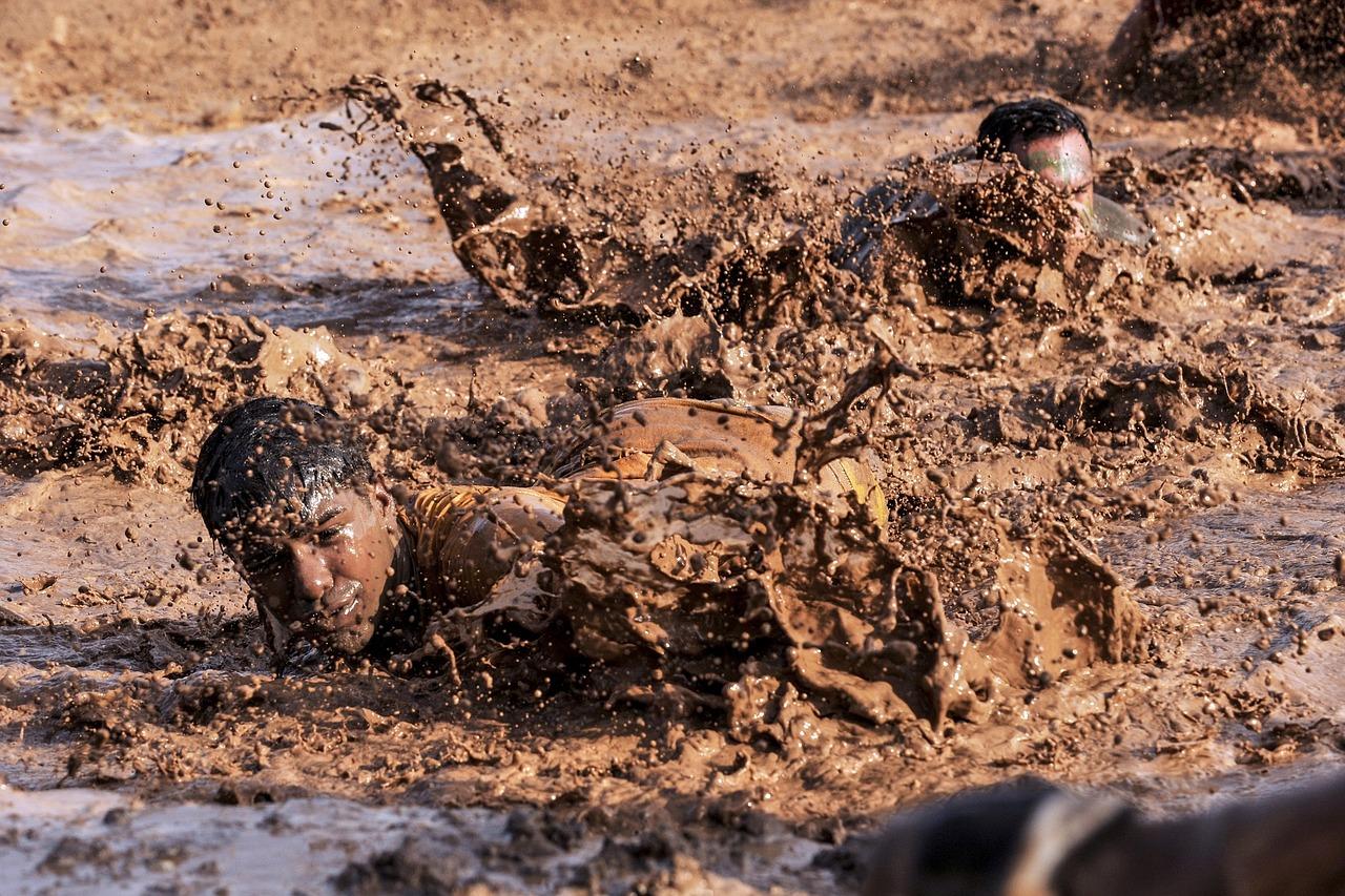 mimpi mandi lumpur