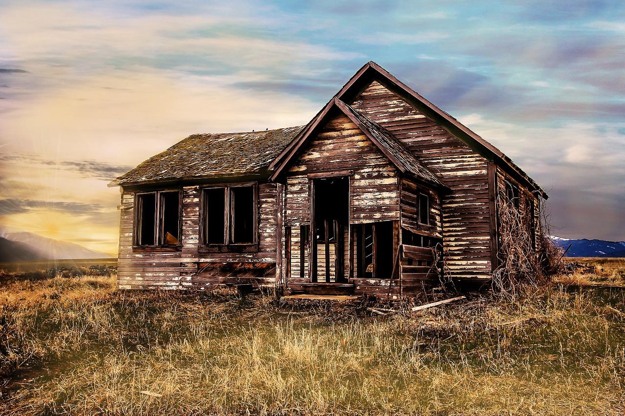 mimpi rumah kosong