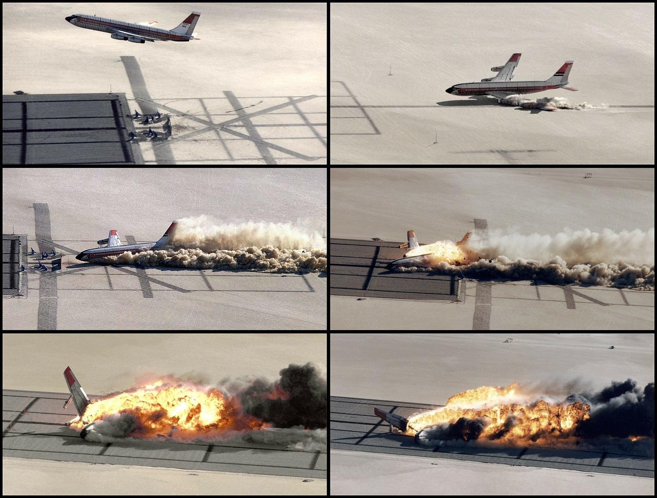 mimpi kecelakaan pesawat terbakar