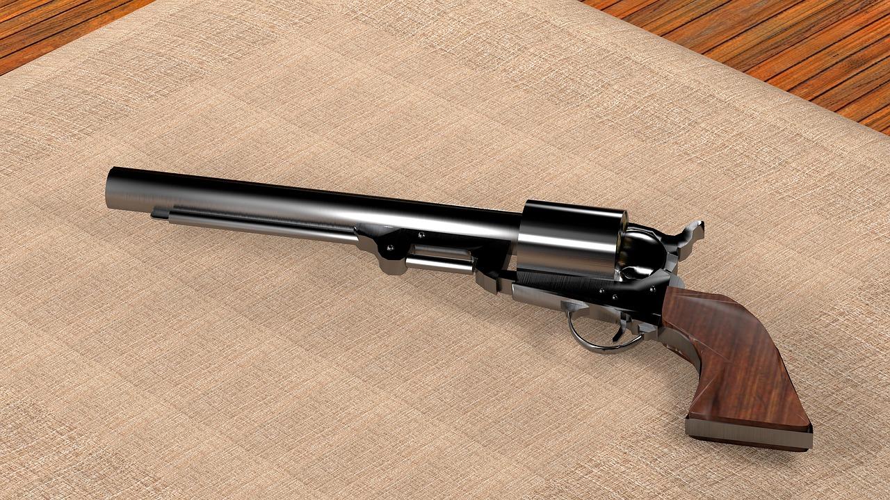 mimpi pistol antik