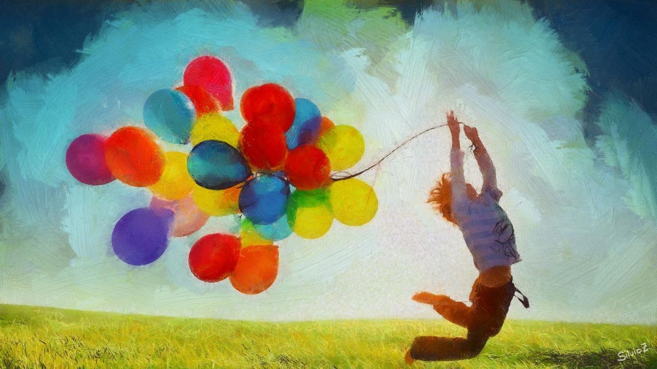 mimpi balon warna-warni