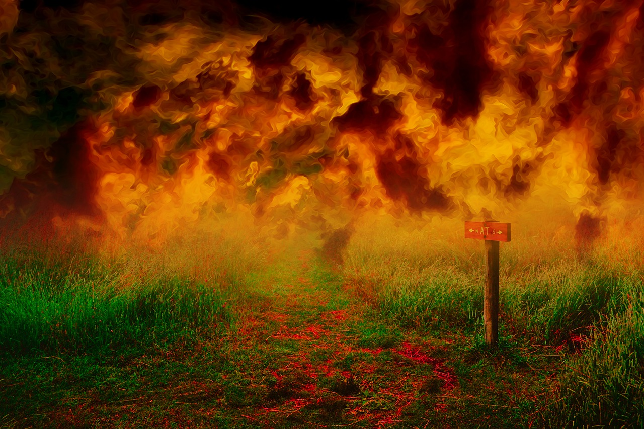 Arti mimpi bom jatuh dari langit